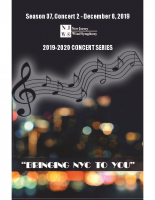 NJWS December 2019 Concert
