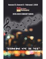 NJWS February 2020 Concert