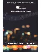 NJWS November 2019 Concert
