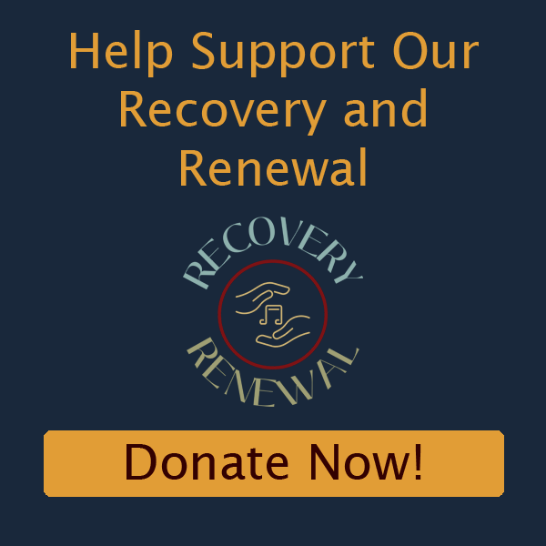 Recovery and Renewal Popup